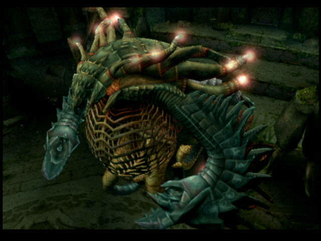 Final Fantasy X PlayStation 2 One of the first bosses you will fight