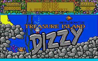 Treasure Island Dizzy Atari ST Title screen
