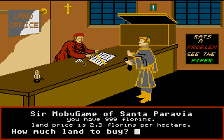 Santa Paravia and Fiumaccio Atari ST Real estate market