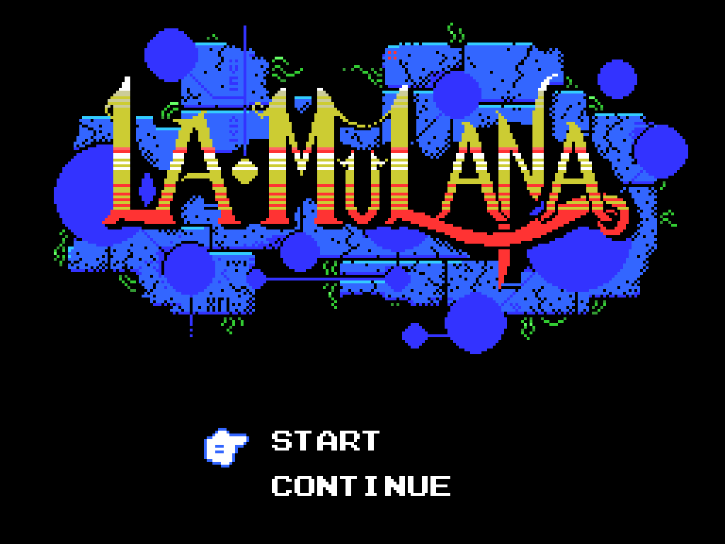 La•Mulana Windows Title screen