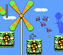 Rockman 7 Windows The world of Cloud Man with little room for mistakes