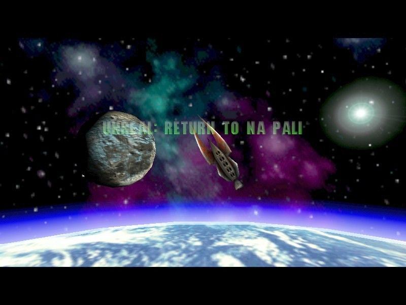 Unreal Mission Pack 1: Return to Na Pali Windows The game starts right where Unreal left off, stranded in space.