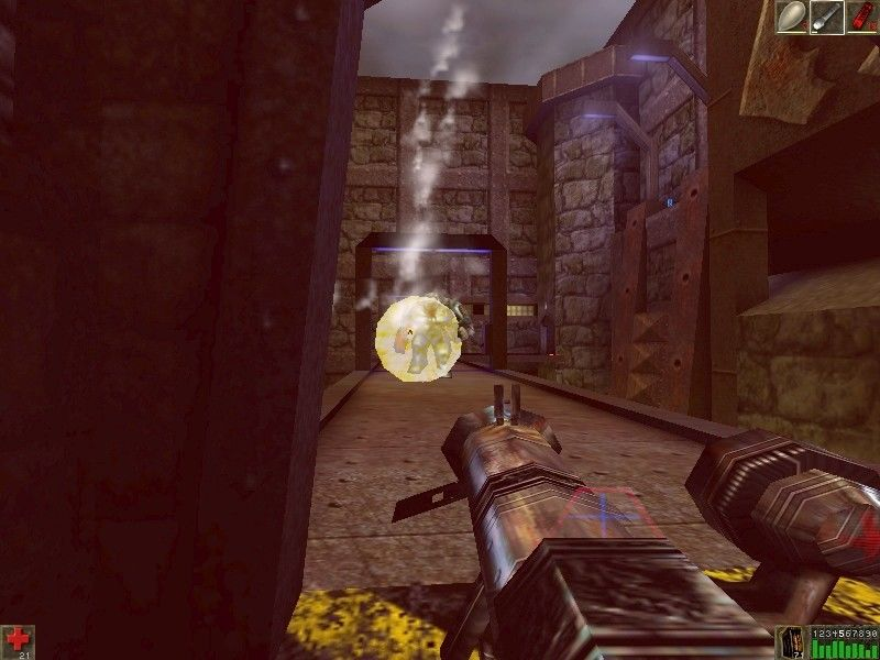 Unreal Mission Pack 1: Return to Na Pali Windows ... the rocket launcher is about the same as the eightball gun...