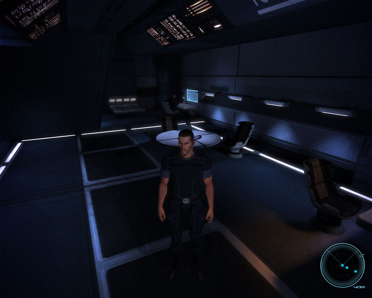 Mass Effect Windows Captain's office