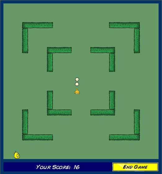 Meerca Chase II Browser Maze mode.