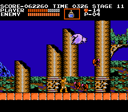 Castlevania NES The hunchbacks are the most annoying enemies in the game.