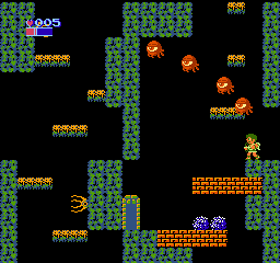 Kid Icarus NES The first three levels takes place in the Underworld, deep beneath the surface of Angel-land.