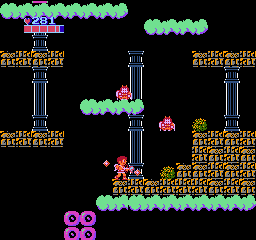 Kid Icarus NES If these thieves catches you, they steal one of your special weapons.