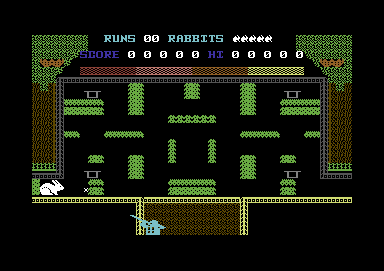 Rabbit Pie Commodore 64 The maze