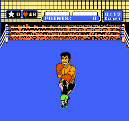 Mike Tyson's Punch-Out!! NES Some punches can be blocked.