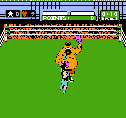 Mike Tyson's Punch-Out!! NES Punch King Hippo in his mouth when he opens it, because that is his only weakness.