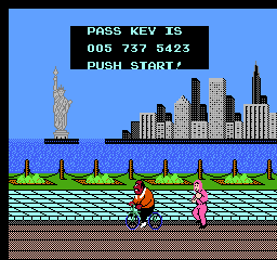 Mike Tyson's Punch-Out!! NES Getting a new password. It's used to continue from the same place in a later playing session.