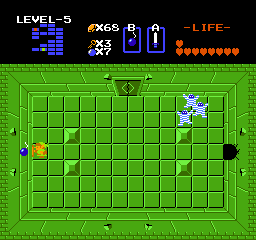 The Legend of Zelda NES You can blow holes in some walls.