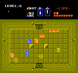 The Legend of Zelda NES The ghostlike wizzrobes can be a real pain to kill. Some of them can teleport, and their attacks do massive damage.
