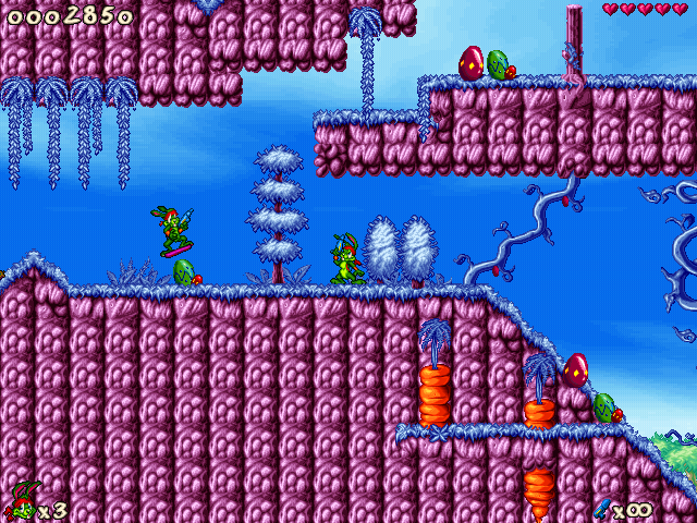 Jazz Jackrabbit 2: Holiday Hare 98 Windows It's clone attack...