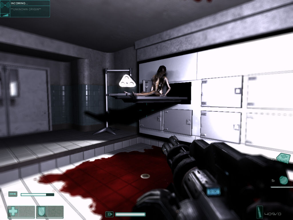 F.E.A.R.: Extraction Point Windows Playing around in the morgue with Alma