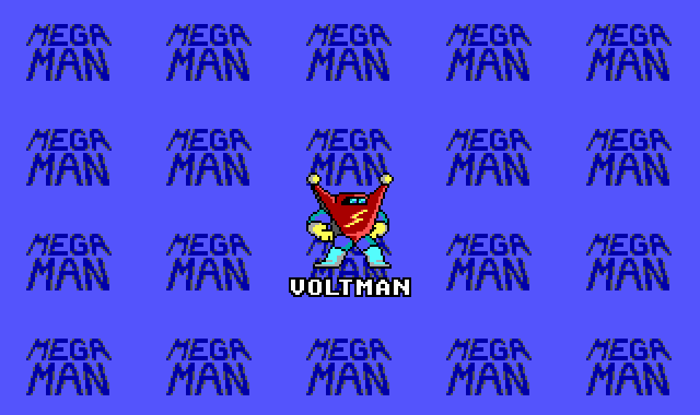 Mega Man DOS Entering VoltMan's stage.