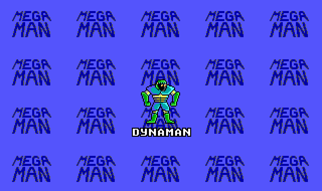Mega Man DOS Entering DynaMan's stage.