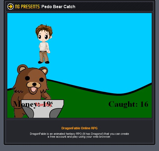 Pedo Bear Catch Screenshots for Browser - MobyGames