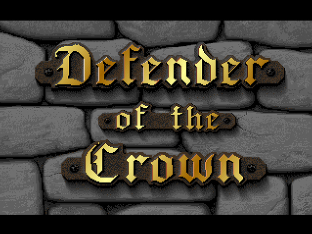 Defender of the Crown Browser Title screen