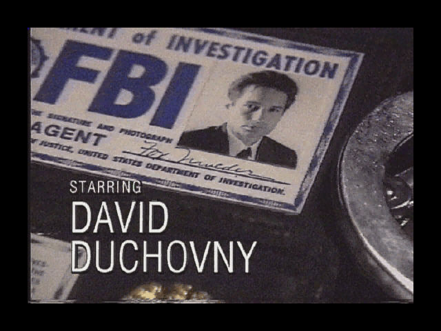 david duchovny x files. The X-Files Game Windows David