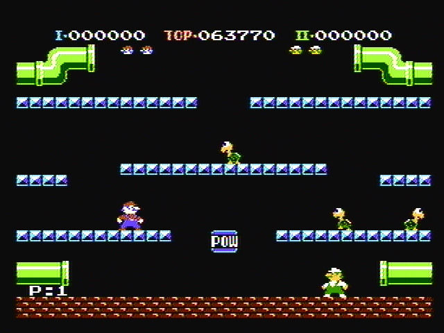 mario bros screenshots for nes mobygames. Black Bedroom Furniture Sets. Home Design Ideas