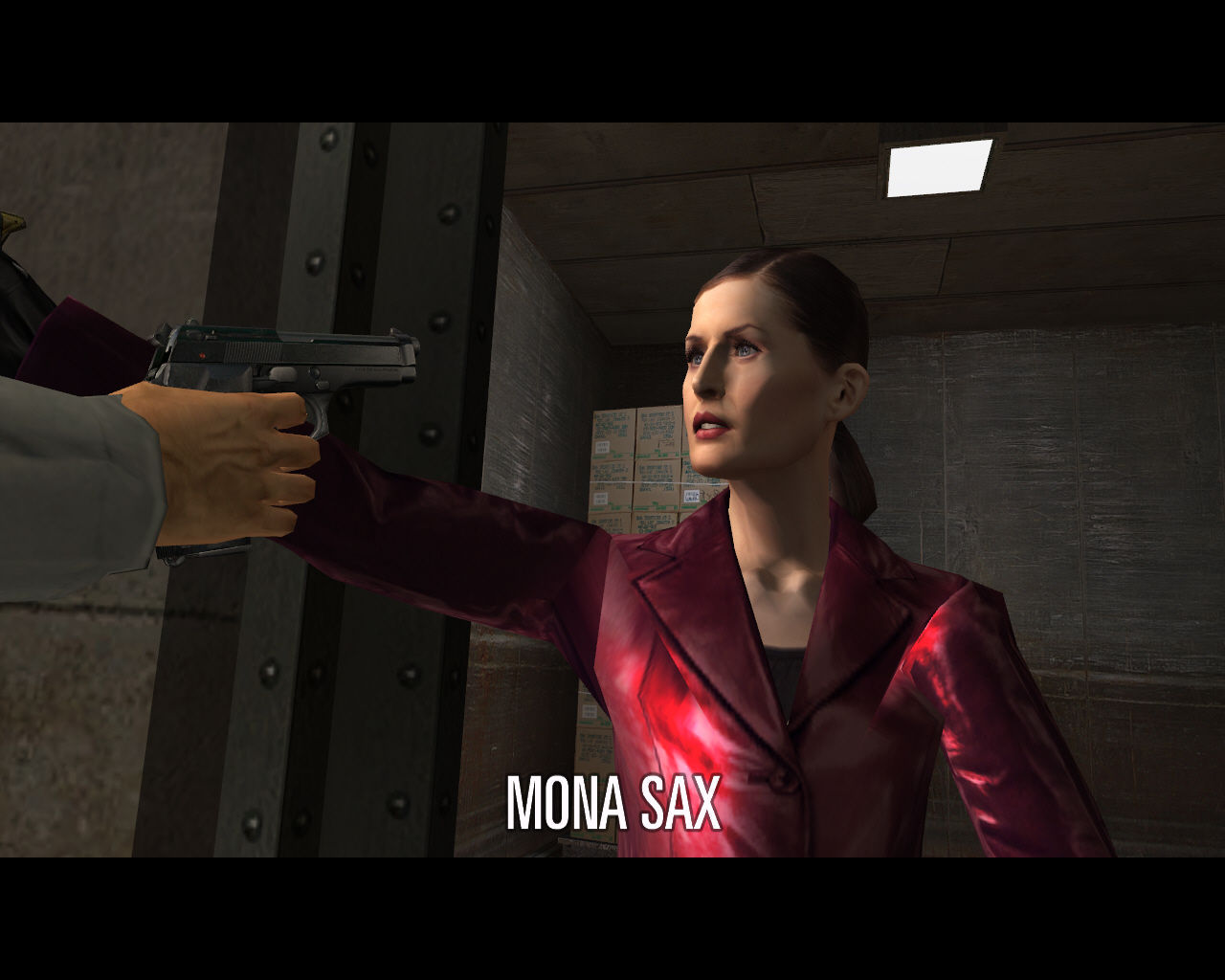 Max Payne 2: The Fall of Max Payne Windows Mona Sax