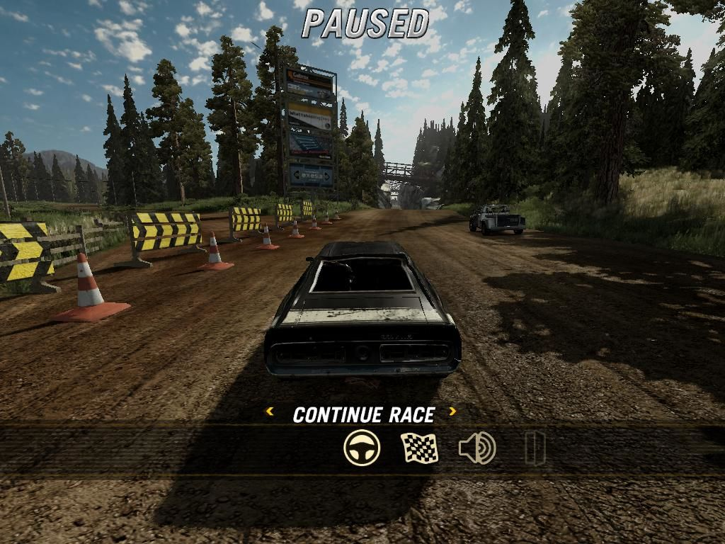 FlatOut: Ultimate Carnage Windows Pause menu