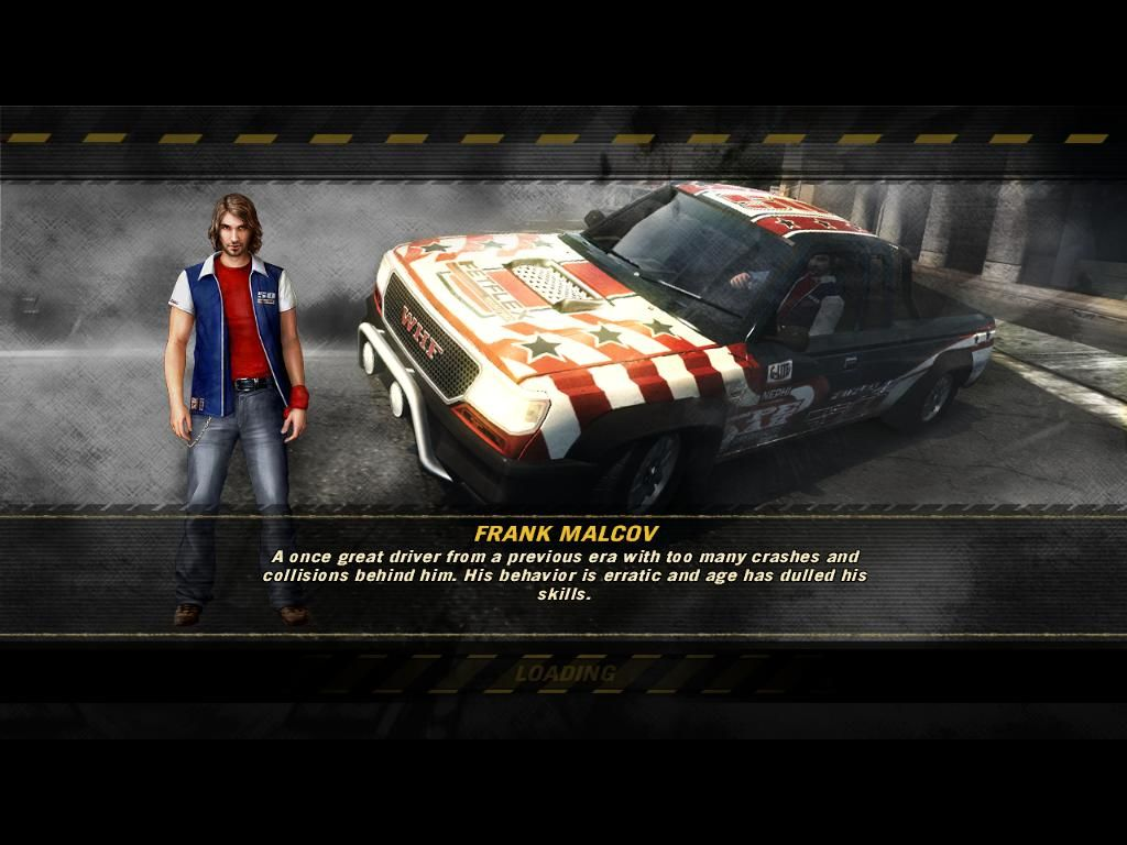 FlatOut: Ultimate Carnage Windows One of the many loading screens