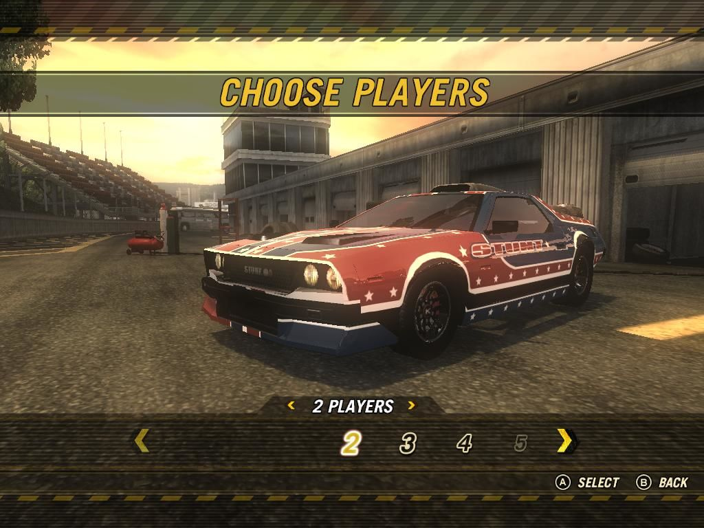 FlatOut: Ultimate Carnage Windows Party Mode Screen