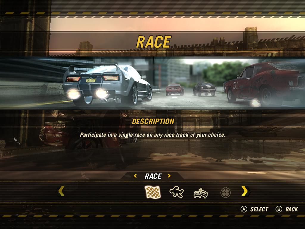 FlatOut: Ultimate Carnage Windows Event Screen