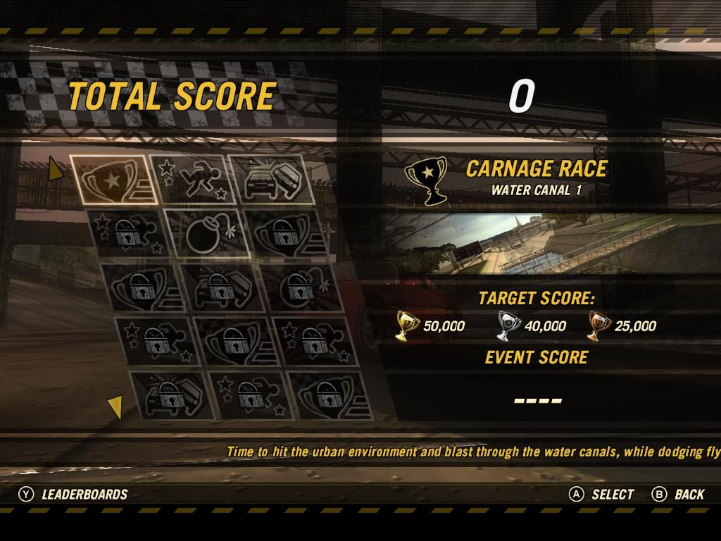 FlatOut: Ultimate Carnage Windows Unlockables