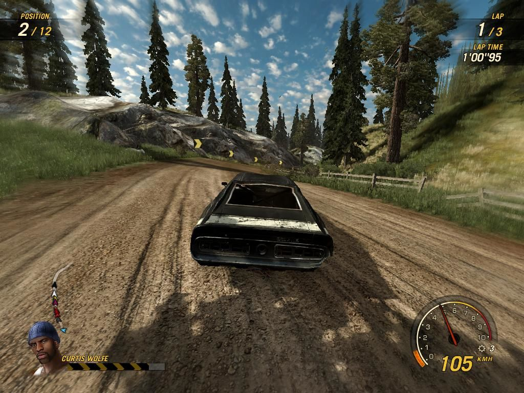 FlatOut: Ultimate Carnage Windows This is one of the first tracks you race in the game