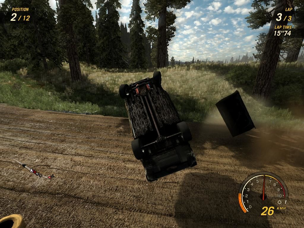 FlatOut: Ultimate Carnage Windows I can't call this a failure... since you get nitro points for every cool crash...