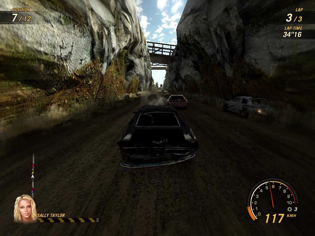 FlatOut: Ultimate Carnage Windows Whah... soon my engine will burn!