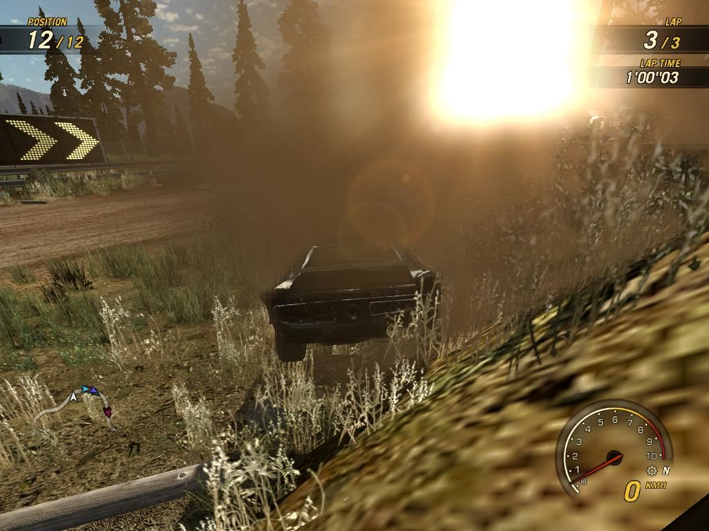 FlatOut: Ultimate Carnage Windows Dust and sunlight... Oh... and unreal physics...