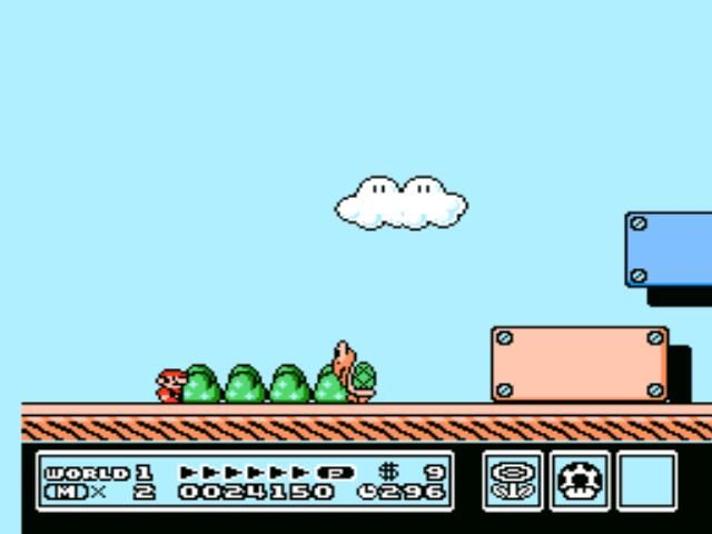 Super Mario Bros. 3 NES Koopa Troopa