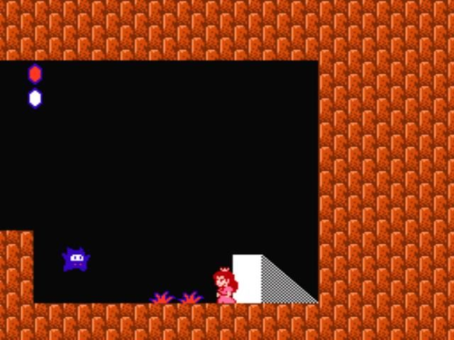 Super Mario Bros. 2 NES Secret level