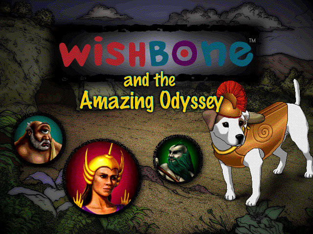 Wishbone and the Amazing Odyssey Windows Title screen