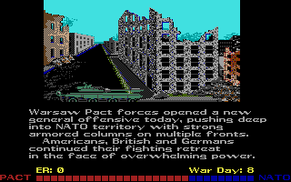 Red Storm Rising Atari ST The war proceeds, poorly for NATO, partially on account of my slackerdom.