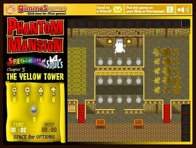 Phantom Mansion: Spectrum of Souls - Chapter 3: The Yellow Tower Browser Now I exit the room.