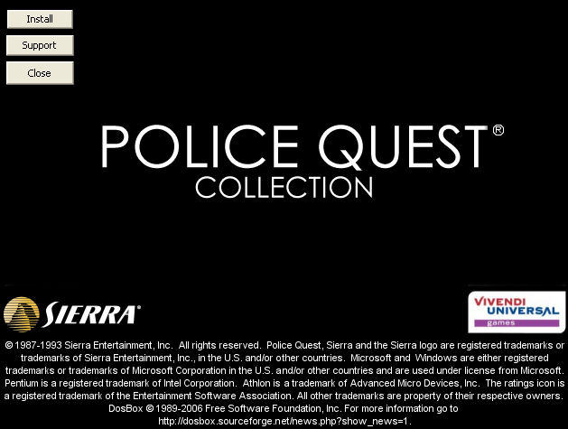 Police Quest Collection Windows Police Quest Collection Installation