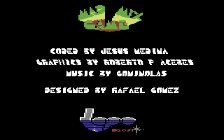 Mad Mix Commodore 64 Title and credits