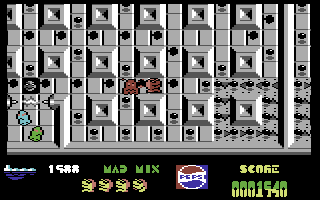 Mad Mix Commodore 64 Got a ghost