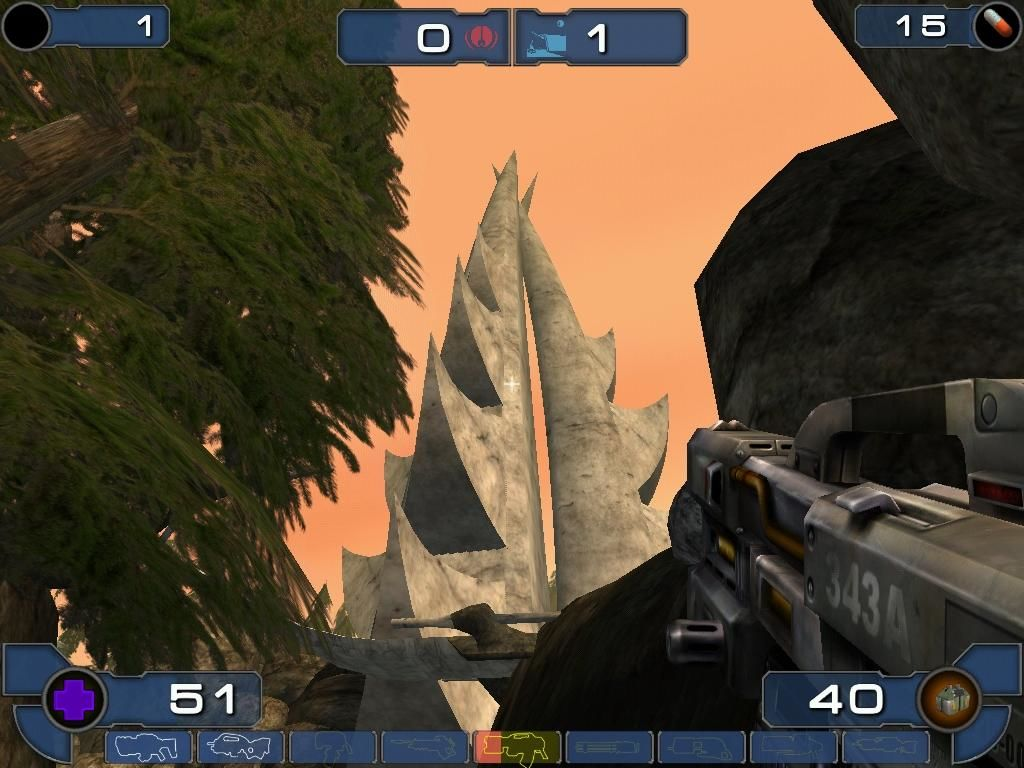 Unreal Tournament 2003 Windows What this is, I do not know. It looks cool, though.