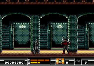 Batman: The Video Game Genesis That swordsman is also back with a vengeance.