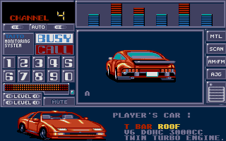 Chase H.Q. II: Special Criminal Investigation Atari ST Your car