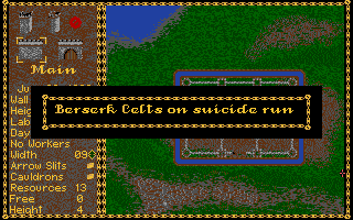 Castles Atari ST Those crazy Celts...