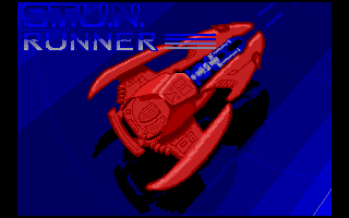 S.T.U.N. Runner Atari ST Title screen