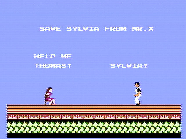 Kung-Fu Master NES Try to save Sylvia